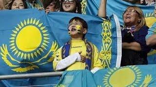Гимн Казахстана спели с нарушениями