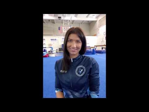 Online gymnastics lesson #1 with Lana's Gymnastics Club