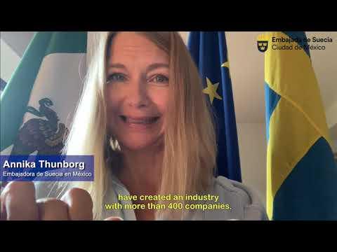 Industria de los videojuegos en Suecia #ForoIndustriasCreativasUEMX