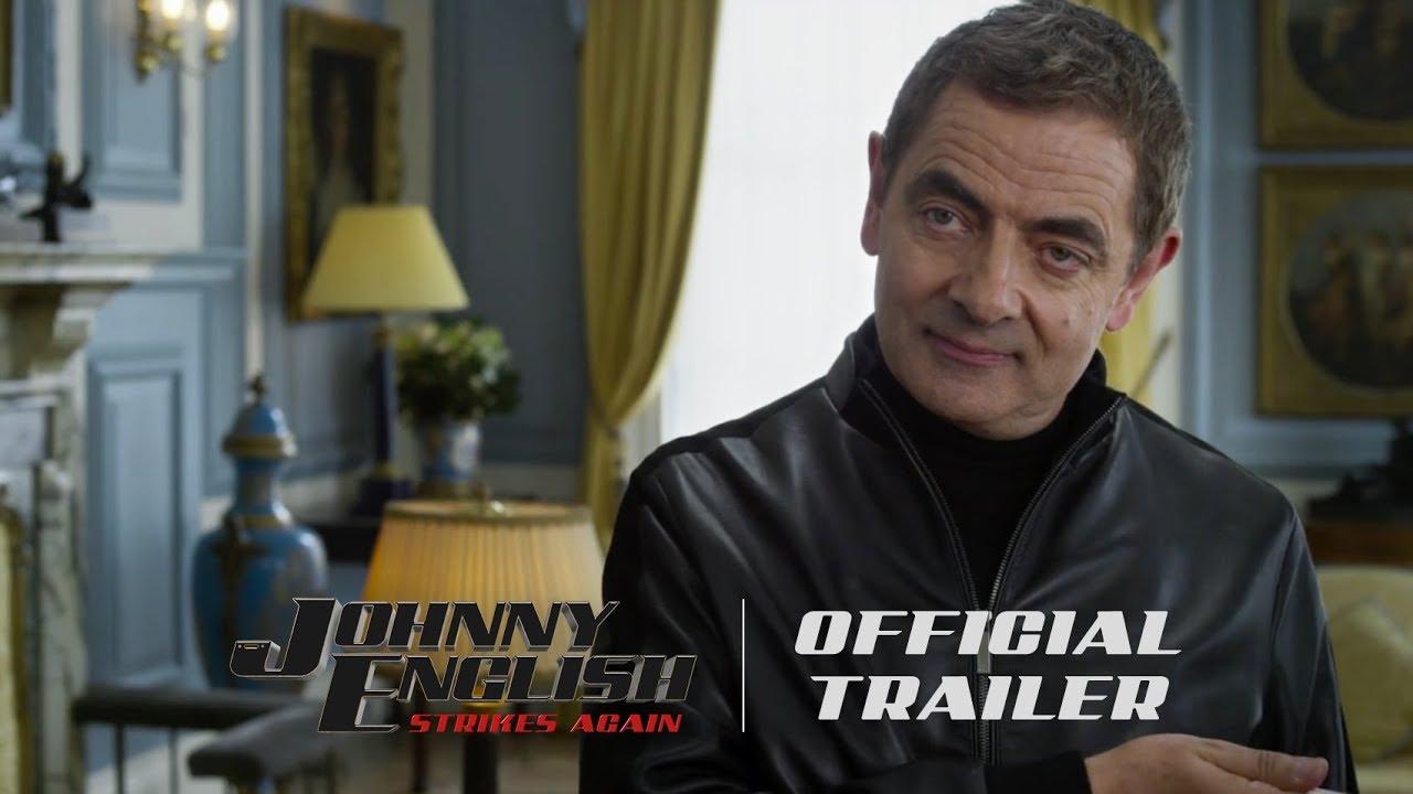 Trailer för Johnny English Strikes Again