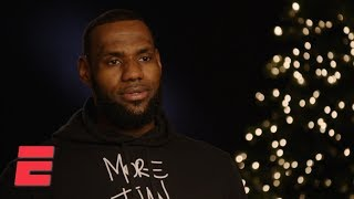 LeBron James exclusive interview on Lakers, Kevin Durant, Anthony Davis and more | NBA Interview