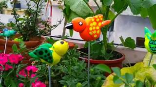 DIY CLAY BIRD Ll How To Make Clay Bird Ll Clay Bird Ll Terrace Garden