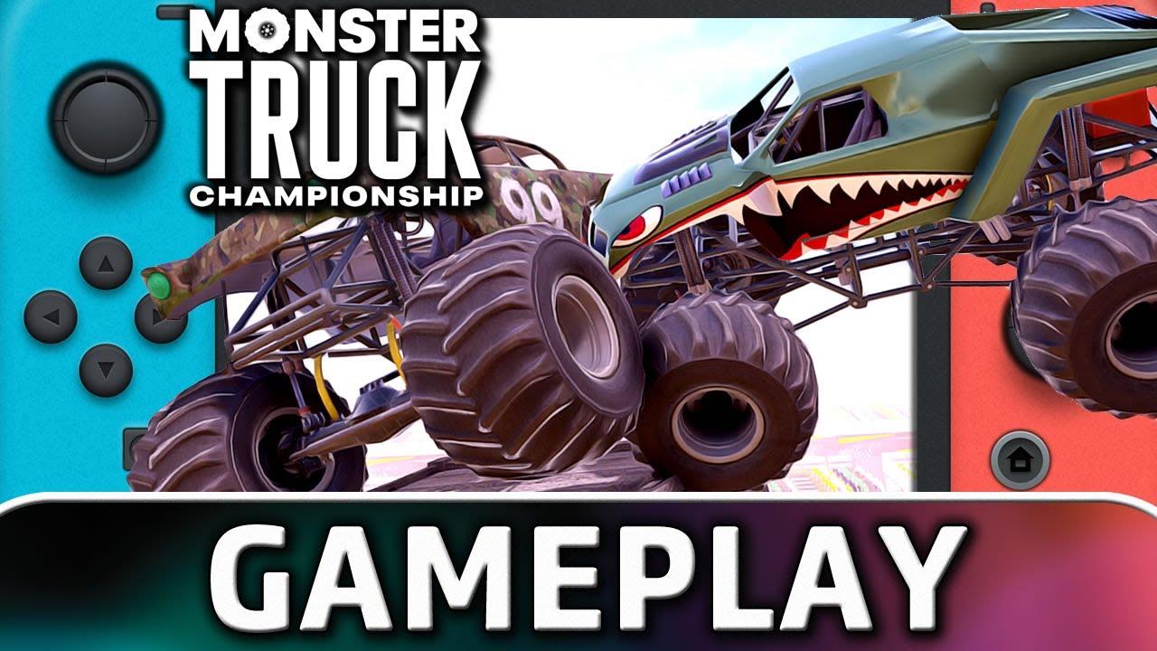 Monster Truck Championship | Nintendo Switch Gameplay
