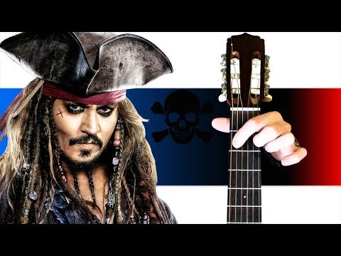 Пираты Карибского Моря на Гитаре (Разбор)