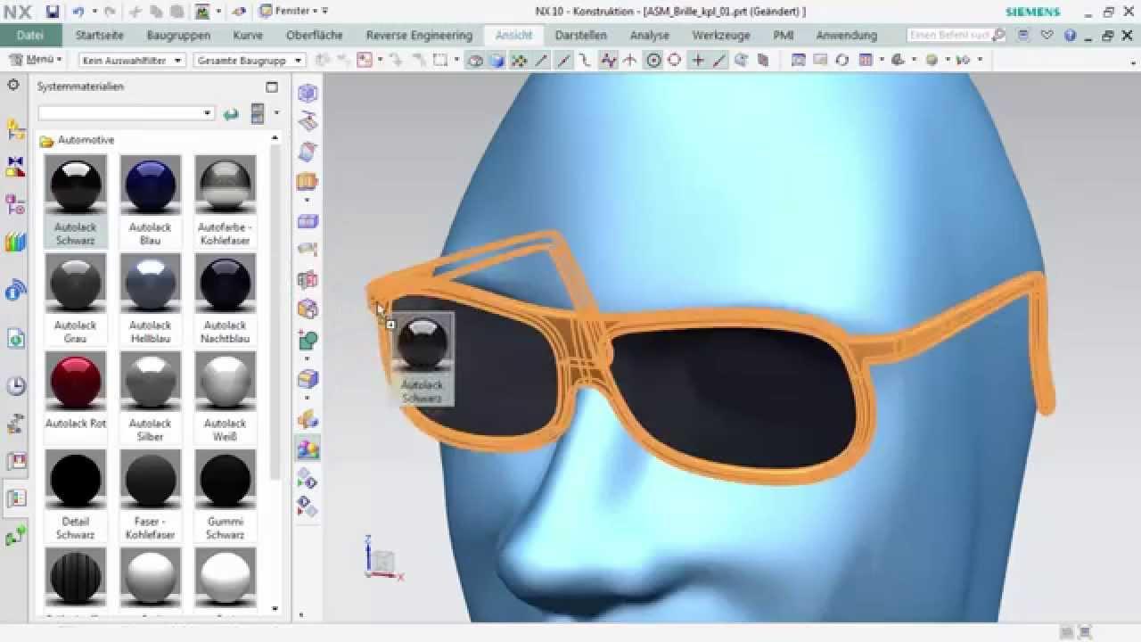 Vorschaubild: NX Tutorial: Designkonzept mit Subdivision Modeling