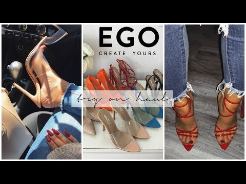 BADDIE ON A BUDGET! EGO OFFICIAL Try On Haul | SayehSharelo♡