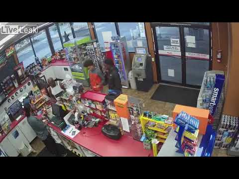 Clerk has a heart attack, these guys rob the store.