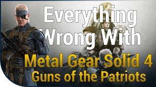 GAME SINS | Everything Wrong With Metal Gear Solid 4: Guns of The Patriots