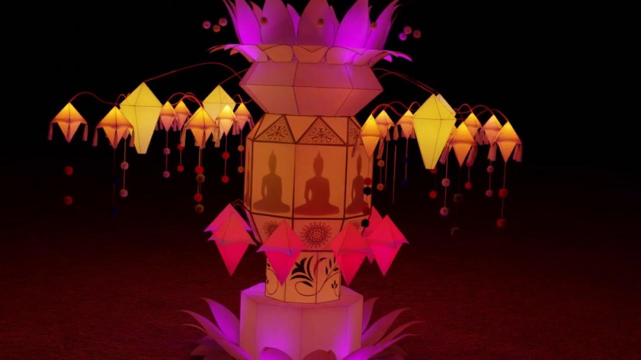 Vesak Lantern By Sanwara Dissanayake