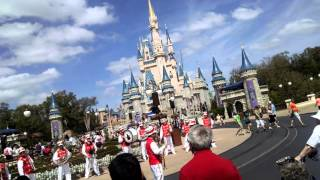When the saints go marching in-disney world
