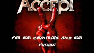Accept - Blood of the Nations [lyrics]