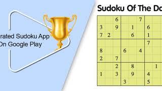 The Best Sudoku App