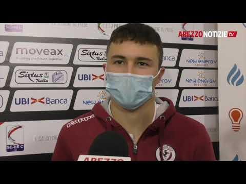 Arezzo-Matelica 2-0, intervista a Iacoponi