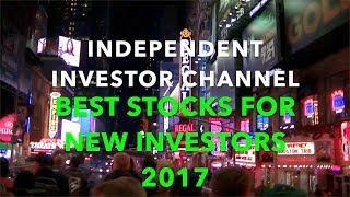Best Stocks for New Investors 2017 | Dow Jones Industrial Average (DJIA)
