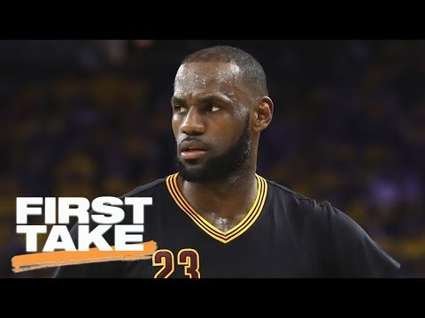 Stephen A. Smith says LeBron James is 'nauseating' at times | First Take | ESPN
