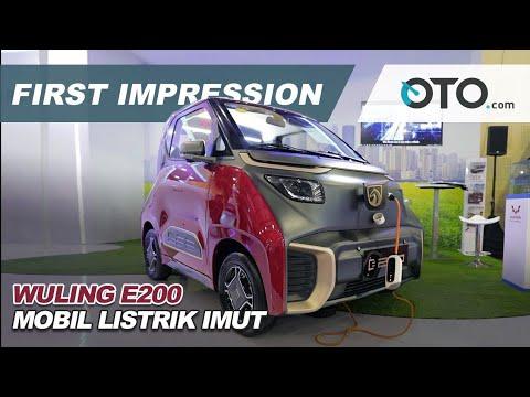 Wuling E200 | First Impression | Mobil Listrik Imut | OTO.com