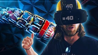Weltweit erste Roam & Ride Virtual Reality Achterbahn 🎢 EUROPA-PARK