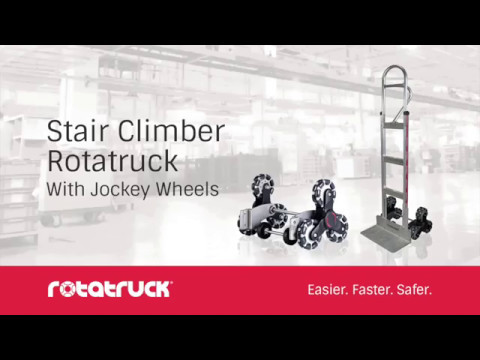 Rotatruck Stairclimber with Jockey Wheels - Award Winning Safety Design