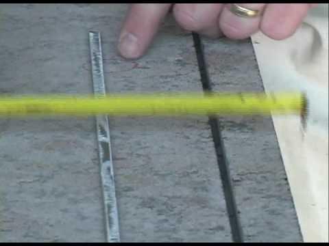 Rodding Granite Countertops