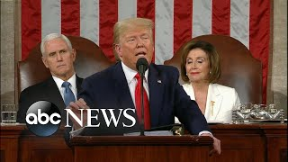 Trump Discusses Health Care L State Of The Union 2020   ABC News