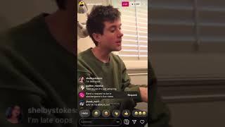 My Mind Is A Prison   Alec Benjamin   Instagram Live 10232019
