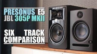 JBL 305P MKII Vs PreSonus Eris E5      6-Track Comparison
