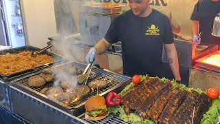 Street Food Festival from the World. Huge Food Event in Italy