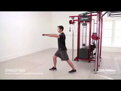 Single Arm Standing Chest Press