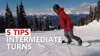 #1 Snowboard intermediate – Tips for sliding turns