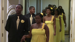 Best Bridle Party Processional Ever - A Haitian Wedding Ceremony at Paradise Banquet Hall GTA