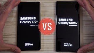 Samsung Galaxy S10 Plus vs Note 9 - Speed Test!