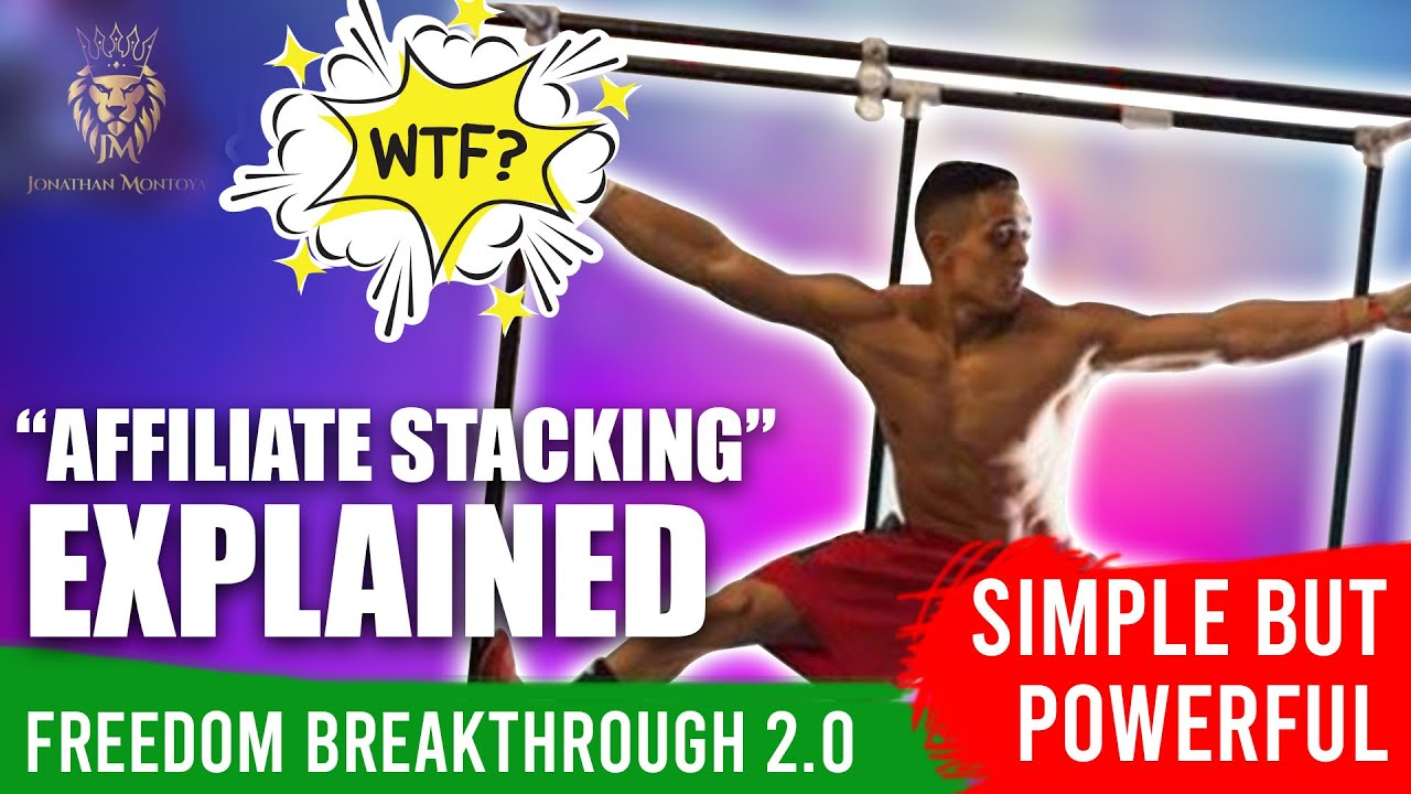 FREEDOM BREAKTHROUGH 2.0 (AFFILIATE STACKING Explained!) Step By Step! Make Money Online thumbnail