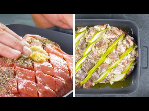 A Feast For All Meat Lovers – You Have To Try This Marinade & Filling!