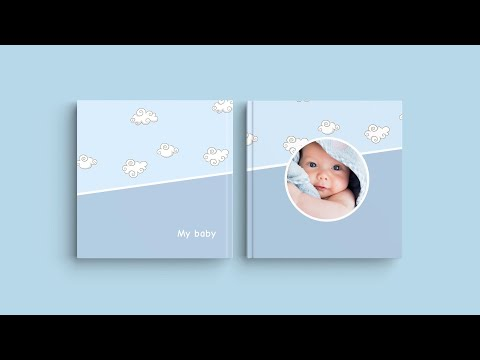 Inspiration for Your Photo Book Cover – 'My baby'