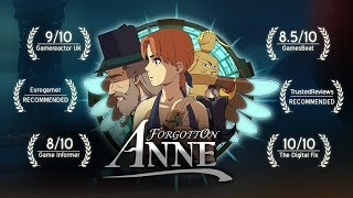 Forgotton Anne Out Now on Mac!