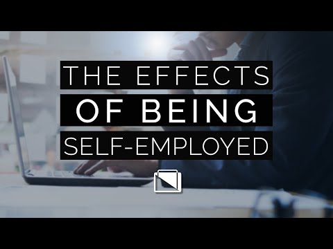 The Effect of Being Self-Employed