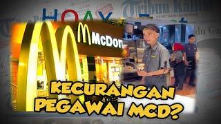 HOAX OR FACT: Pegawai McDonalds Nyaris Lakukan Kecurangan