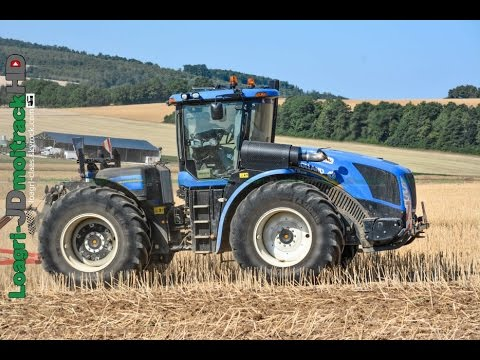 NEW HOLLAND T9 & HORSCH Terrano 6FM en France !!!