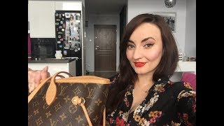What's In My Travel Bag/carry On - Louis Vouitton Neverfull MM