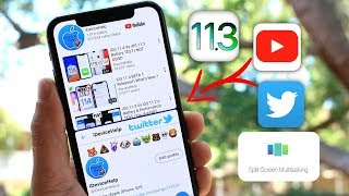 Split Screen Multitasking for iOS 11.3 | How To Use Two Apps at The Same Time