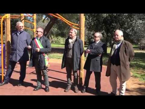 Preview video INAUGURAZIONE IMPIANTO CALISTHENICS - COMUNE DI PIOMBINO - PIOMBINO 12-3-2019