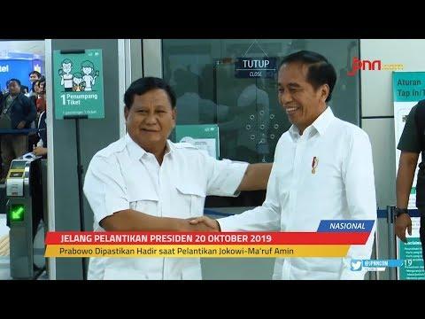 Insyaallah Prabowo Menghadiri Pelantikan Jokowi - Ma'ruf Amin