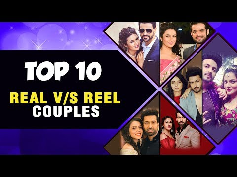 Top 10 Real Vs Reel Life Couples | Divyanka Tripat