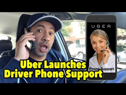 Contact Uber: Uber Launches Driver Phone Support