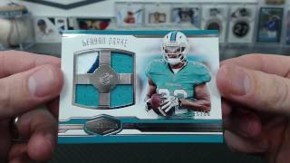 2016 Panini Plates and Patches Football 6 Box Half Case Break #2