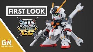 First Look: SDCS Crossbone Gundam X1