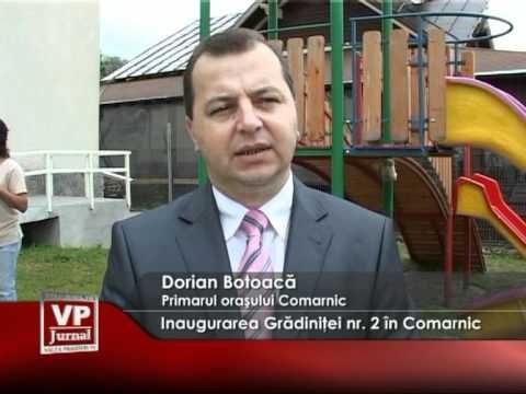 Inaugurarea Grădiniţei nr. 2 în Comarnic