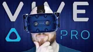 Hands On Impressions Of The HTC Vive Pro Virtual Reality Headset - Video Youtube