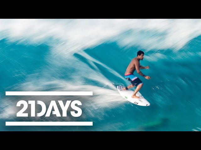 Preparing To Surf Pipeline For The Volcom Pipe Pro | 21Days Ep 1