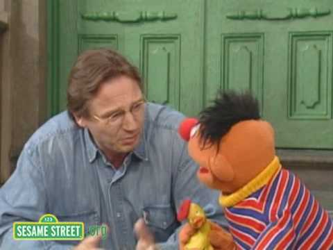 Sesame Street: Rubber Duckie Directs Liam Neeson and Ernie
